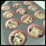 Low fat blueberry muffin 4